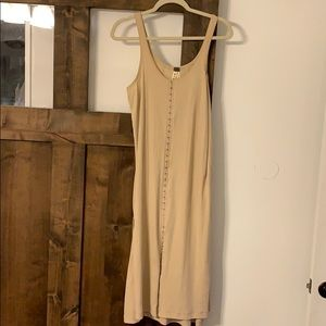 Free people button up dress